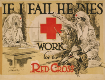 Amazing Red Cross recruitment posters through the years