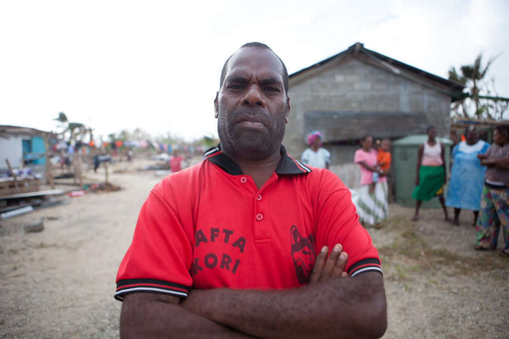"Peter Albert, 41, a community leader from the village of Takara in Vanuatu, is growing increasingly desperate about the situation facing his community. Though numerous agencies are involved in helping Takara, they've received very little that Albert would call ""helpful."""