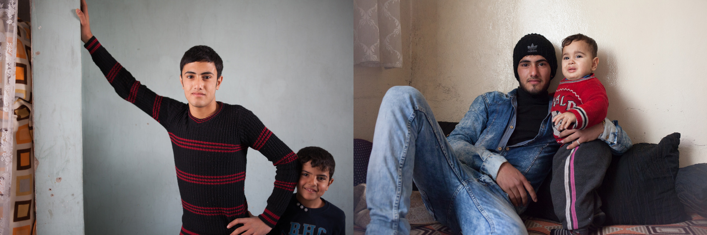 Muhammed and Ibu Syrian Refugee Boys in Gaziantep Turkey Emily Troutman Aidworks