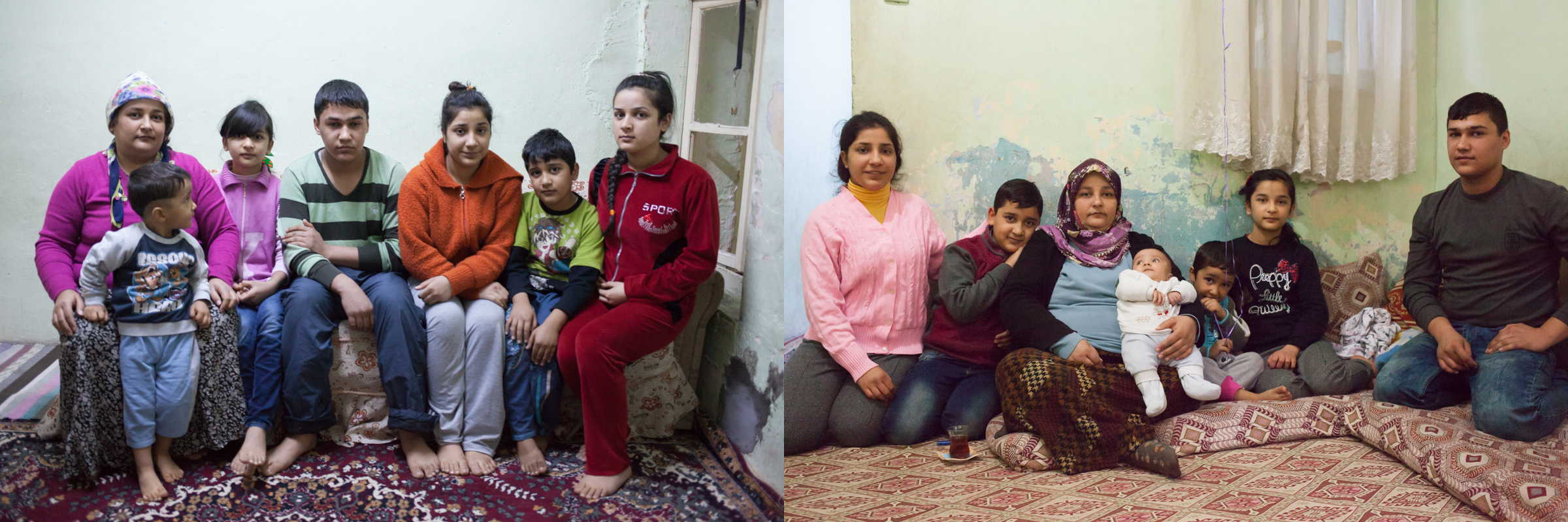 Syrian Refugee Family in Gaziantep Turkey Emily Troutman Aidworks