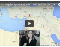 Video: Understanding the Syrian Refugee Crisis and the EU Turkey Deal